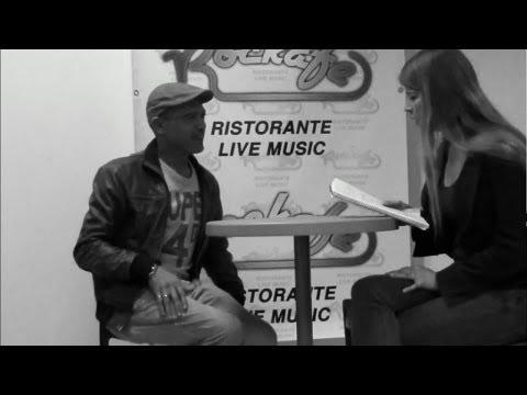 Pietro Peo Franca interview Art Takes Action @ Rockafe 17 May 14
