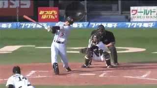 2014.05.24 横川史学・G移籍後初本塁打