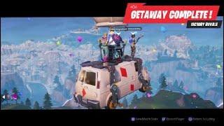 Fortnite LMT Getaway random squads win