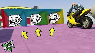 GTA 5 ONLINE 🐷 MEGA TROLL MOTO 2 !!! 🐷 GARE TROLL 🐷N*80🐷 GTA V ONLINE 🐷 DAJE !!!