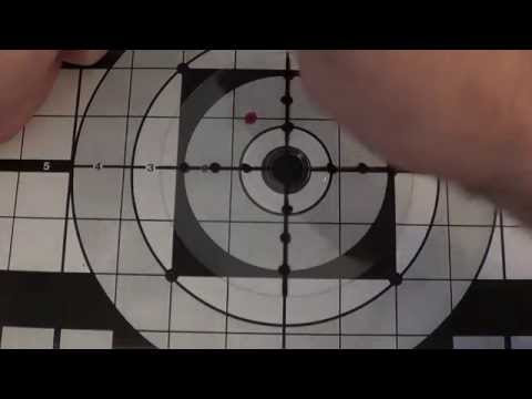 Как правильно пристрелять оптический прицел на пневматике видео
