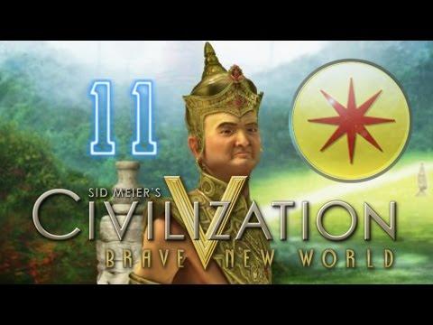 The Terrifying New World [11] Siam Civilization 5 Brave New World