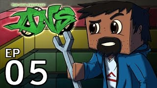 """Minecraft - DNS TECHPACK: Ep5 """"NICE TOOLS & I HATE YOU LUCKY BLOCKS!"""""""
