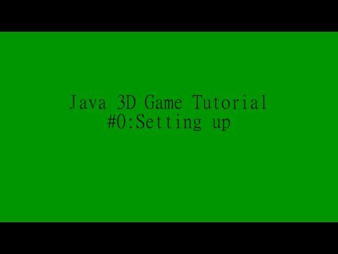 Java 3D game programming tutorial #0