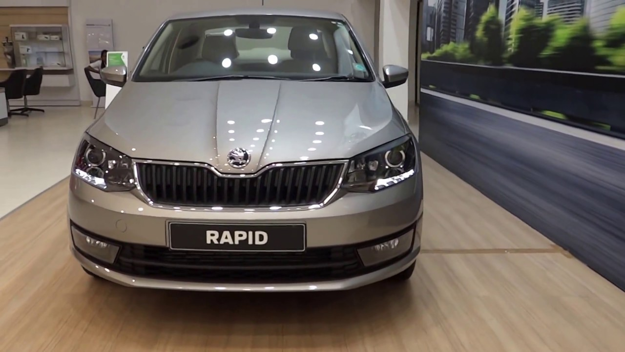 All New Skoda Rapid Facelift Red Grey Silver White All Colors