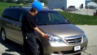 Used 2006 Honda Odyssey EX-L for sale at Honda Cars of Bellevue...an Omaha Honda Dealer!