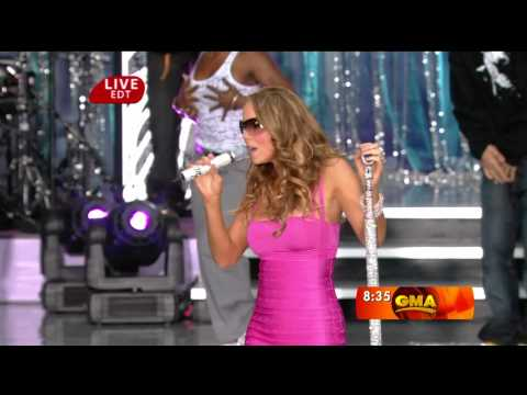 [1080p] Mariah Carey - Touch My Body @ (Good Morning America 25.04.2008) HD
