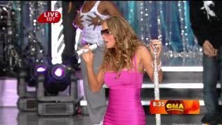 1080p Mariah Carey Touch My Body Good Morning America 25 04 2008 HD