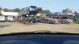 Авто-рынок в Антверпене(Antwerpen). Покупка Peugeot 206 HDI
