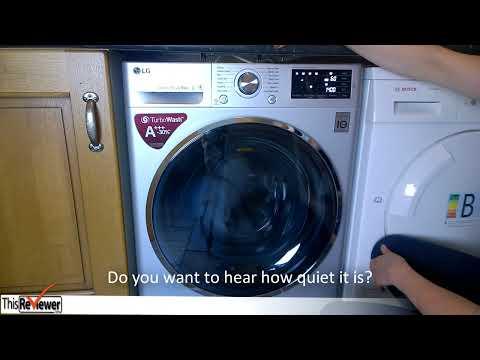 LG Washing Machine Unpacking And Installation