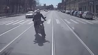 Водятлы на мотоциклах, приколы на дорогах 2017