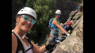 Have You Ever Tried a Via Ferrata?  Check this one out in Ouray, Colorado!
