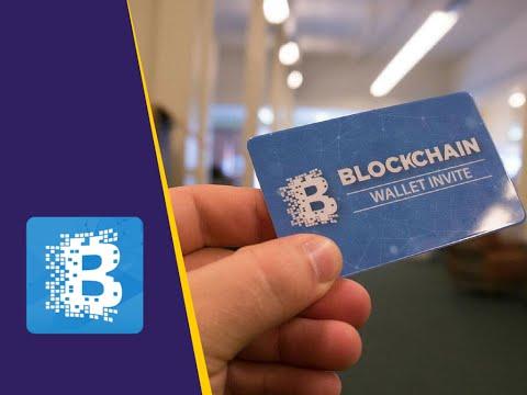 شرح L التسجيل في موقع Blockchain المحفظة البيتكوين الألكترونية