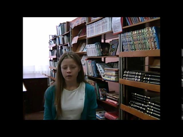 Изображение предпросмотра прочтения – СветланаСеменченко читает отрывок изпроизведения «Евгений Онегин» А.С.Пушкина