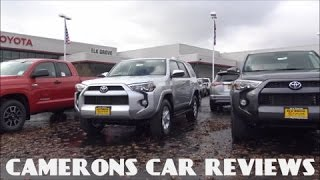 2016 toyota 4runner sr5 review a one of a kind suv   camerons car reviews