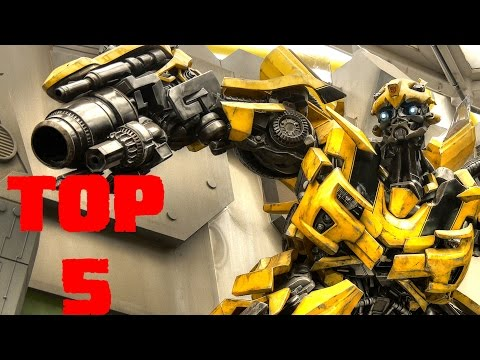TOP 5 ROBOT GAMES ANDROID 1080p