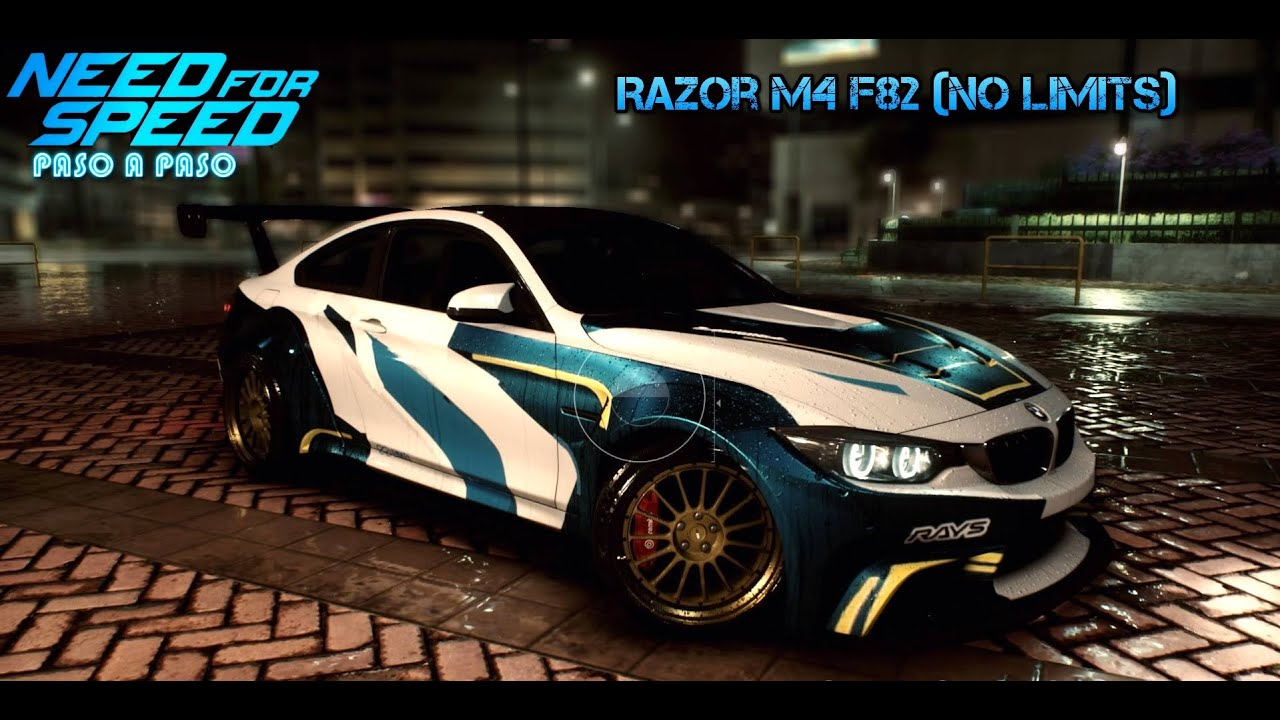 Bmw m4 razor need for speed 2015 razor bmw m4 f82