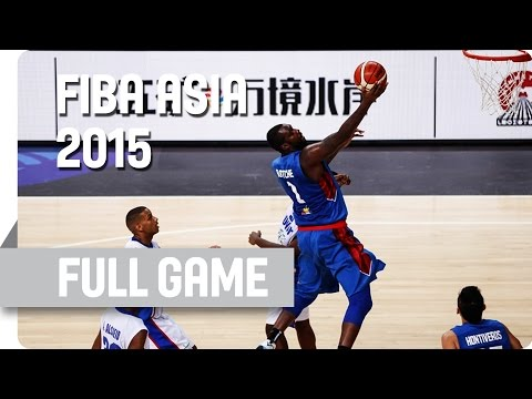 Kuwait v Philippines - Group B - Full Game - 2015 FIBA Asia
