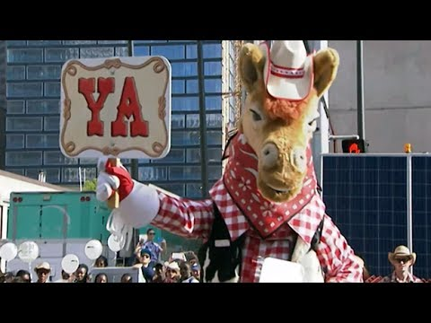 Parade kicks off an optimistic Calgary Stampede