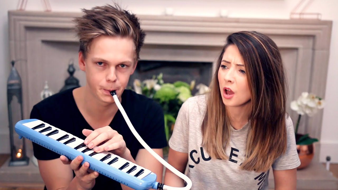 FUNNY BLOOPERS WITH ZOELLA - YouTube
