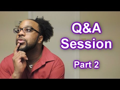#483 - Q&A Session #2 (Part 2)   Protective Styles, WNHS, Long Hair Goals