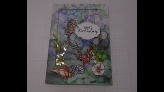 Stampin' Up! Seaside Notions Birthday Card
