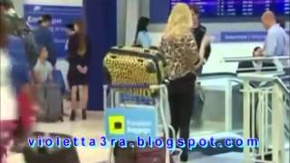 Violetta 3 : Ludmila Se Cae Por La Escalera
