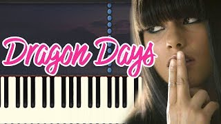 Alicia Keys - Dragon Days (Piano Tutorial Synthesia)