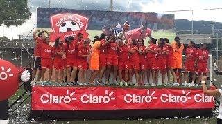 Final Femenina Antioquia Vs. Valle, Copa Claro 2013