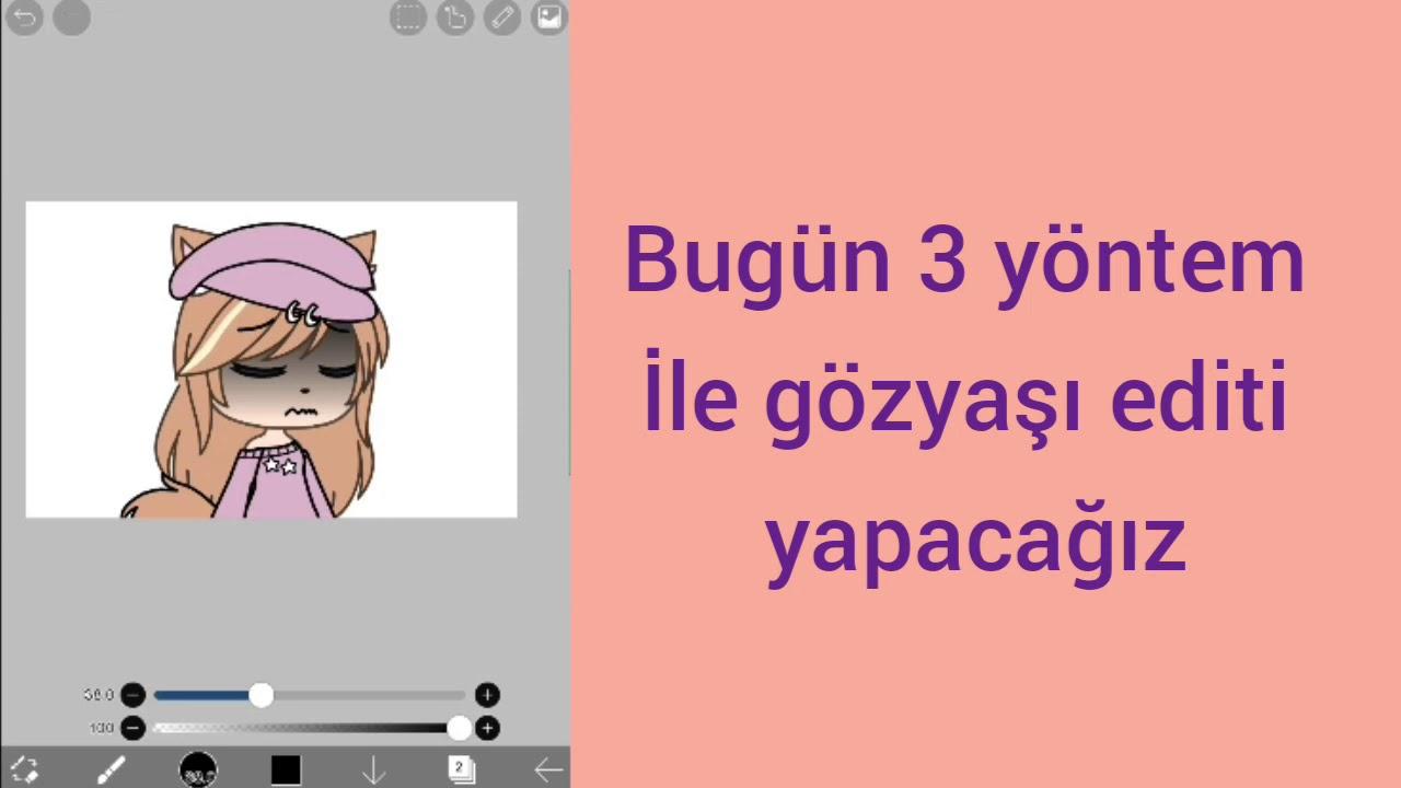 Göz editi nasıl yapılır? ·//gacha life türkçe\\\\·