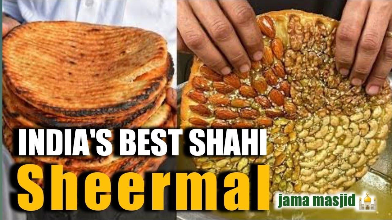 Download Haji Nadeem Shahi Sheermal Wale | Best Shahi sheermal | old Delhi Jama masjid street food