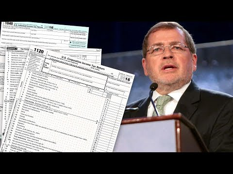 Grover Norquist: GOP Tax Bill Is Good Enough For Now (He's Planning to 'Whine Later')