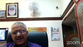 Guru Tegh Bahadur Sahib (Dr Harjinder Singh Dilgeer): Online Lecture, DAV Col. Amritsar,11.9.2020