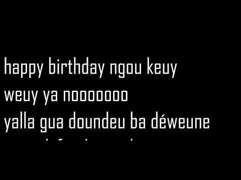 Maabo HBD lyrics