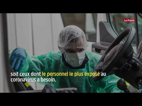 Coronavirus: la France commande un milliard de masques à la Chine