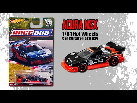 #92 Unboxing dan Review Diecast Hot Wheels Acura NSX Car Culture Race Day