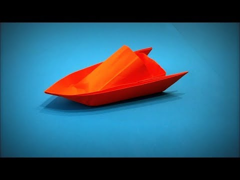 Origami Boat   How to Make a Paper Boat Yacht that Floats DIY - Easy Origami Step by Step