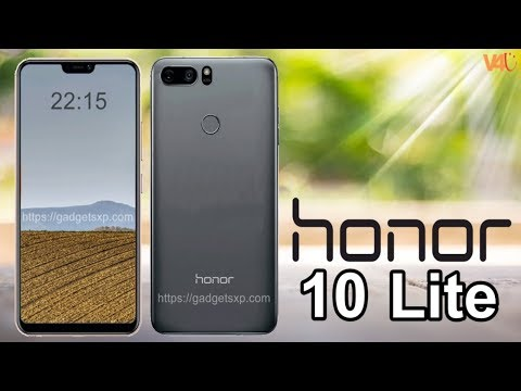Honor 10 Lite Concept, Release Date, Features, Specifications, First Look, Introduction, Launch