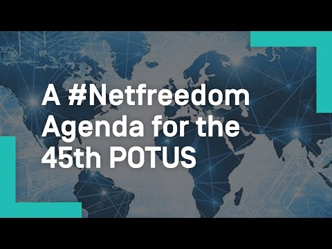 A #Netfreedom Agenda for the 45th POTUS