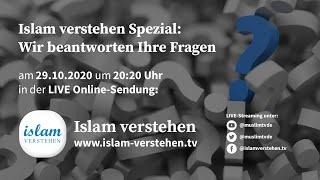 Islam Verstehen Spezial - Wir beantworten Ihre Fragen!