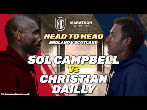 #AuldEnemies - Sol Campbell & Christian Dailly Play FIFA17