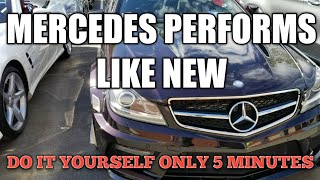 Mercedes   Perform Like New Procedure   Only 5 Minutes