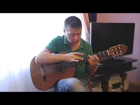 Still Awake cover (by Tobias Rauscher). Fingerstyle guitar - V. Sharii