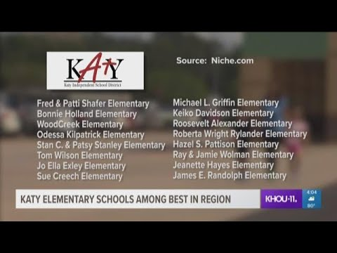 Katy elementary schools ranked among best in region
