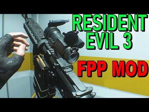Resident Evil 3 - All Weapons In First Person Perspective MOD