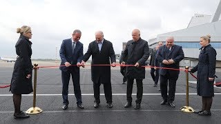 лукашенко открыл новую полосу в аэропорту Минска и поручил найти «фишку» - МИР 24