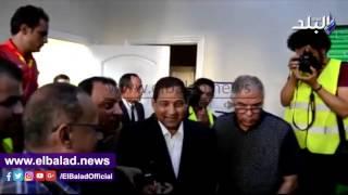 محافظ الغربية ومدير الأمن يكرمان لاعبي طنطا .. فيديو وصور