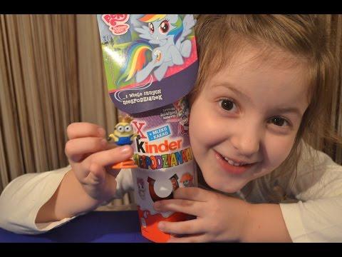 Видео, Киндер Сюрприз Май Литл Пони распаковка игрушек сюрпризов для девочек Kinder Surprise My Little Pony