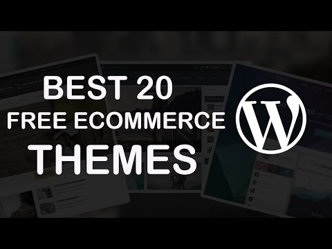 20 Best Free eCommerce Wordpress Themes 2018