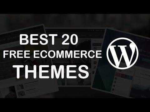 20 Best Free eCommerce WordPress Themes 2018